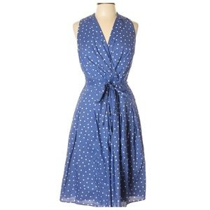 Evan Picone 50's Inspired Polka Dot A Line Dress